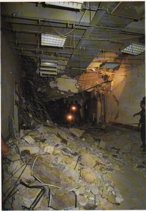14 septembre 1982 - Explosion de la permanence Kataëb d'Achrafieh pendant que Bachir Gemayel y prononce un discours